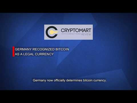 Germany Recognized Bitcoin As A Legal Currency