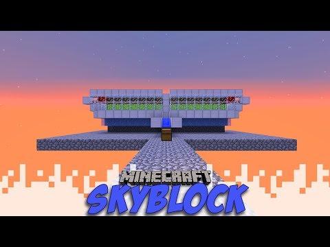 Sugar Cane Gorgeousness!... Sort of. - Skyblock - EP07 (Minecraft)