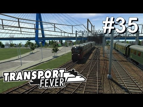 TRANSPORT FEVER #35: Das Depot-Gleis bekommt neue Arbeit [Let's Play][Gameplay][German][Deutsch]