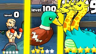 IS THIS HIGHEST LEVEL STRONGEST DUCK PUNCH EVOLUTION? (9999+ HYDRA l Super Duck Punch: Horse Edition