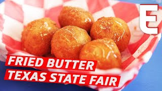 trying fried fair food