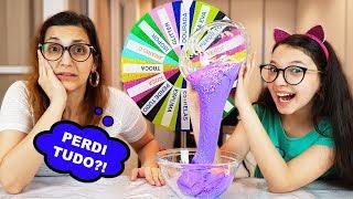 DESAFIO DA ROLETA MISTERIOSA DE SLIME (Mystery Wheel Of Slime Challenge) | Luluca thumbnail