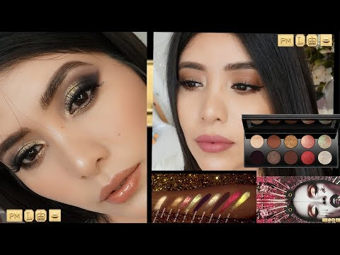PAT MCGRATH MOTHERSHIP V BRONZE SEDUCTION ||4 LOOKS + Reseña