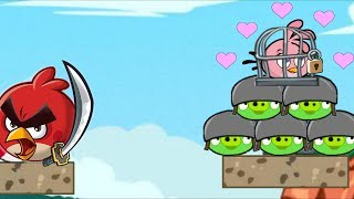 Angry Birds Heroic Rescue - SUCCESSFULLY RESCUE STELLA FROM BAD PIGS IN FINAL LEVELS!
