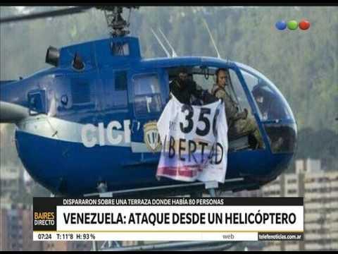 Venezuela: ataque aéreo contra el Tribunal Supremo de Justicia - Telefe Noticias