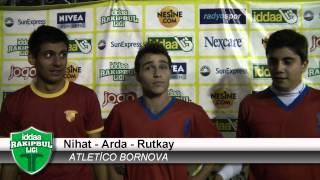 iddaa RakipBul Ligi Atletico Bornova  Fc Ersoy Madrid Maç  Sonu Basın Toplantısı HD