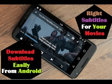 How To Download Right Subtitles For Movies Easily Android
