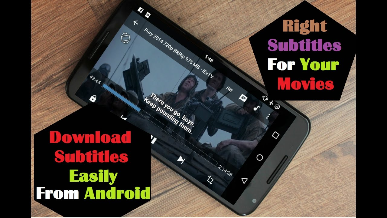 Download How To Download Right Subtitles For Movies Easily Android