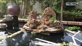Thi công hồ cá koi từ a-z full How to implement koi pond a-z full