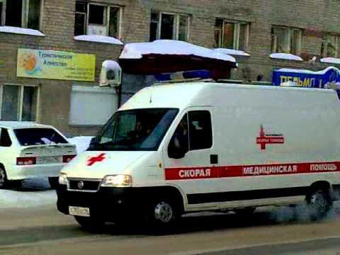 an ambulance on non-emergency call