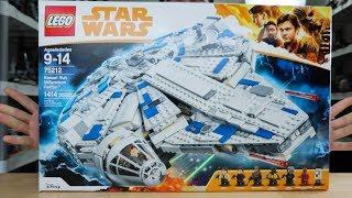 LEGO Star Wars Kessel Run Millennium Falcon REVIEW - 75212