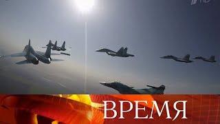 9 мая над центром Москвы пролетят 77 самолетов и вертолетов.