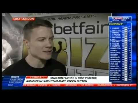 Peter Vaughan Previews Prizefighter: The Light-Middleweights (2012)