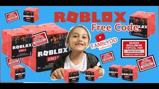 Roblox Toys SERIES 6 Blind Boxes + Code Items UNBOXING / FREE CODE - Roblox The Elevator