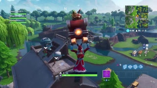 NEW CHRISTMAS KRAMPUS SKIN!! Fortnite Battle Royale