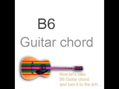 B6 Guitar Chords Youtube