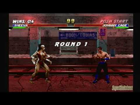 Mortal Kombat Trilogy - Sheeva Arcade Ladder
