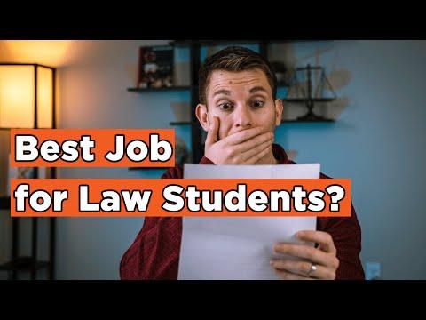 Law Student   Best Summer Job and Legal Internship!
