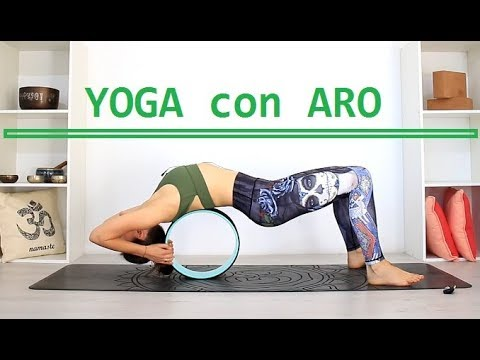 YOGA con ARO para TODO CUERPO - ABDOMEN + ESPALDA flexible ... b16c79b1064d