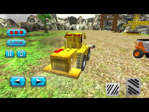 Mining & Minerals Extraction | Stone Smasher Buldozer Truck Cargo Transporter- Android Gameplay FHD