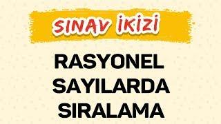 RASYONEL SAYILARDA SIRALAMA - ŞENOL HOCA