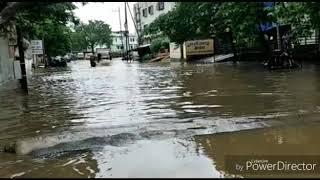 VIDEO: रायपुर और बस्तर समेत प्रदेश के कई जिलों में हो रही भारी बारिश, राजधानी की सड़कें हुई जलमग्न