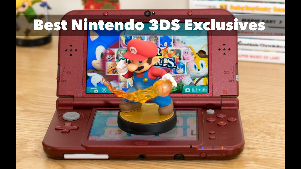 10 Best Nintendo 3DS Exclusive Games of All Time - YouTube