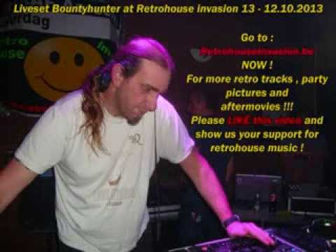 dj Bountyhunter from bonzai liveset at retrohouse invasion 12.10.2013