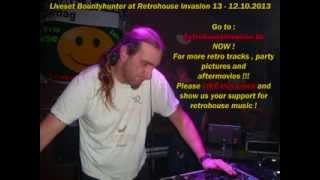 dj Bountyhunter from bonzai liveset at retrohouse invasion 12.10.2013
