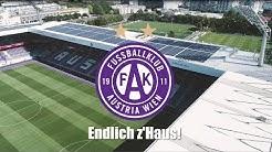 Das Stadionerlebnis bei Austria Wien im Video
