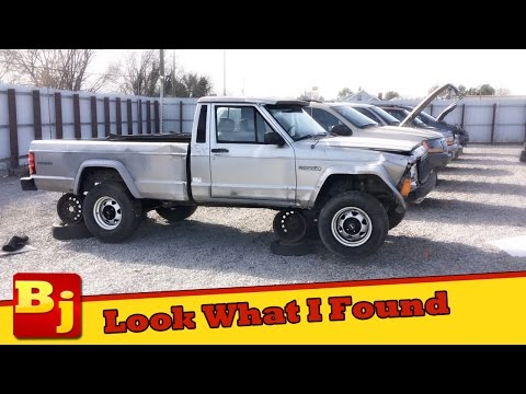 Thumbnail: Cheap Jeep - A Rare Find at the Salvage Yard