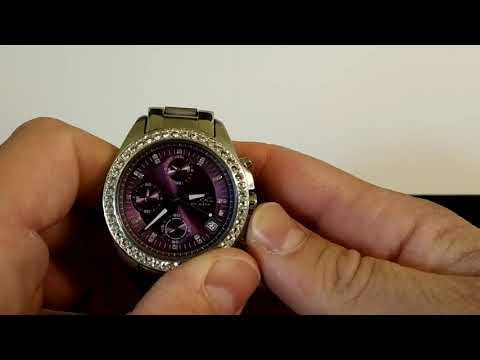 Replace The Battery In A Fossil Watch Without Special Tools.