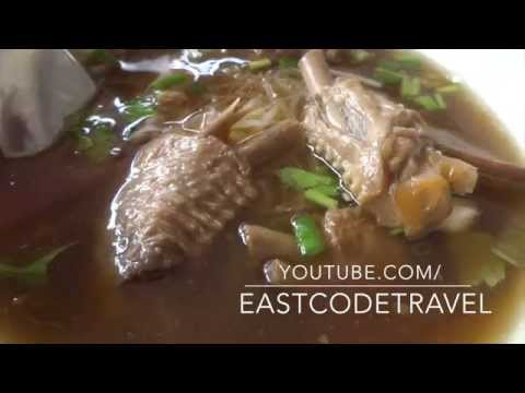 stewed duck wings noodle Surat   Thailand