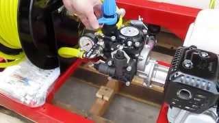 NorthStar 268173 Industrial Spray Rig - 55-Gallon Tank, 160cc Honda GX160 Engine