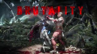 Mortal Kombat 11 'Jax SLOW CLAP Brutality' Gameplay (2019) HD