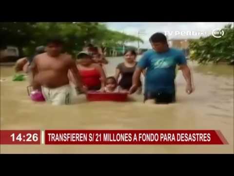 Transfieren más de S/ 21 millones a fondo para desastres naturales