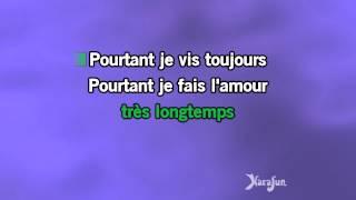 Karaoké Il est trop tard - Georges Moustaki *