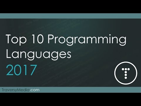 Top 10 Programming Languages 2017