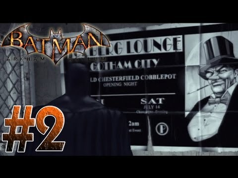 Arkham Asylum - Frank! Beware the Batman - Arkham Asylum Part 2