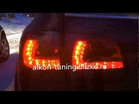 Тюнинг оптика Туарег. Альтернативная оптика Туарег. VW Touareg LED tail lights