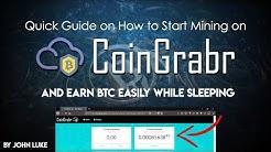 COINGRABR.XYZ - QUICK GUIDE TO EARN BTC WHILE SLEEPING