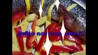 Это просто божественно! Пеленгас запечённый в духовке с овощами