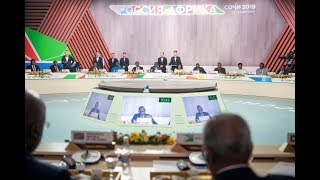 Russia-Africa summit | Remarks by President Kagame | Sochi, 24 October 2019