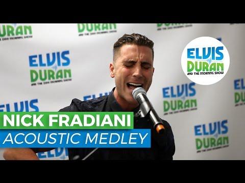 Nick Fradiani Medley | Elvis Duran Live