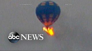 Hot Air Balloon Accident Described as 'Fireball in the Sky'