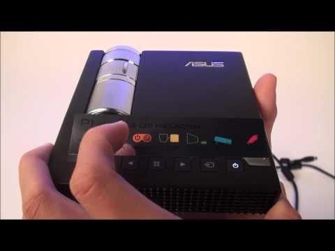 Tinhte.vn - Trên tay máy chiếu đèn LED nhỏ gọn Asus P1 LED Projector