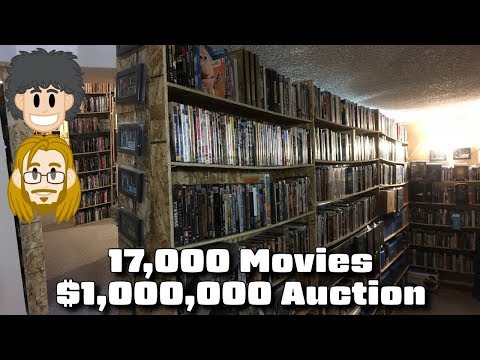 Huge Movie Collection on Sale for $1 Million - #CUPodcast
