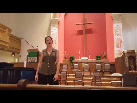 Sein wir wieder gut (Komponist aria) - Jennifer Cooper / MC with Leon Major