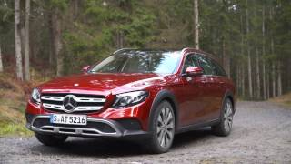 2017 mercedes e class all terrain with designo hyacinth red metallic paint