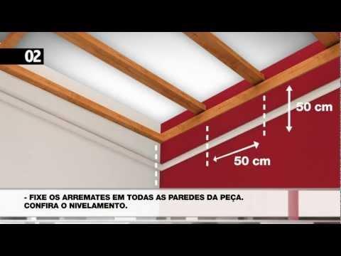 WIGGA - INSTRUÇÕES DE INSTALAÇÃO DO SEU FORRO EM PVC